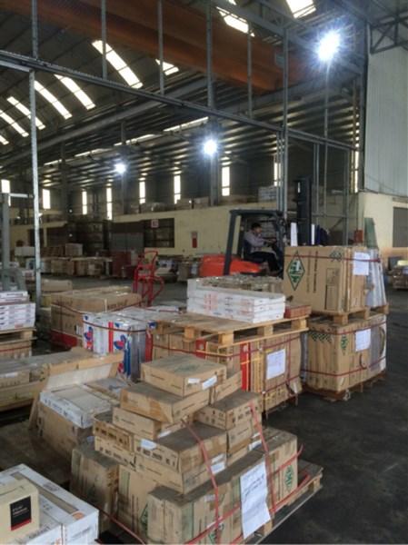 Cho thuê kho xưởng 3000m2 tại KCN Lai Xá Hoài Đức, Hà Nội.