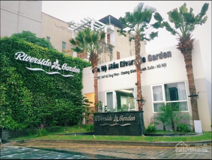 Ban quản lý dự án Riverside Garden 349 Vũ Tông Phan - Cho thuê sàn thương mại