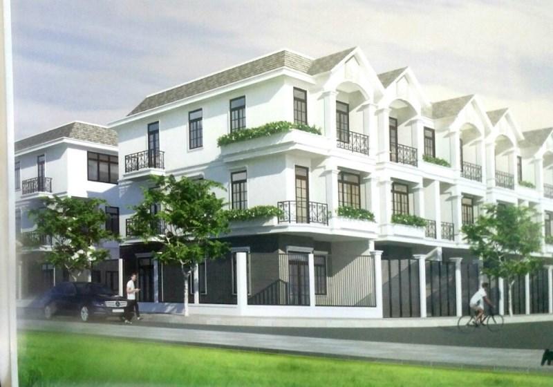 Cơ sở hạ tầng  của khu đô thị Long Hưng đang dần hoàn thiện