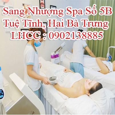 Sang Nhượng Spa Số 5B Tuệ Tĩnh, Hai Bà Trưng, Hà Nội