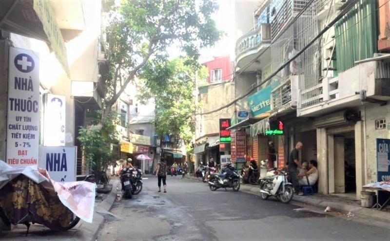 Bán nhà Nguyễn Ngọc Vũ, ô tô tránh, kinh doanh, 40m2. Giá 5.5 tỷ