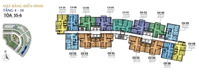 Mở bán tòa S5 đẹp nhất dự án sunshine city thuộc khu đô thị ciputra