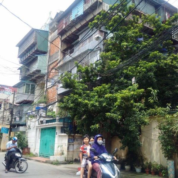 Bán nhà khu tập thể Nam Đồng, Q.Đống Đa 86mx3T ô tô đỗ cửa giá rẻ