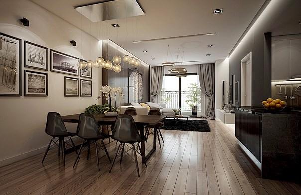 Chỉ với 330 triệu sở hữu căn hộ 2PN full nội thất tiện nghi ngay tại trung tâm Mỹ Đình