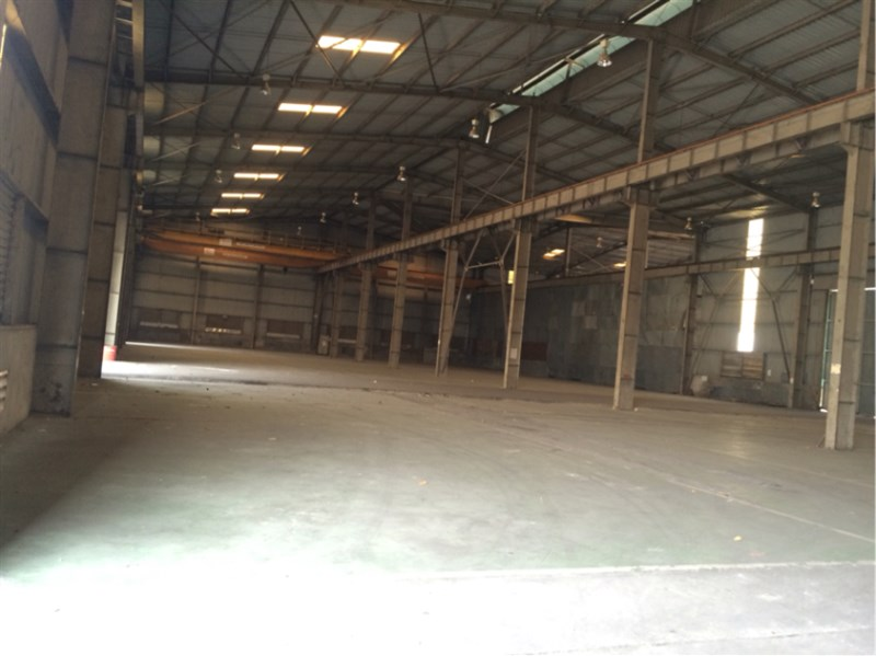 Cho thuê 800m2 kho xưởng tại Hoàng Mai, Hà Nội.