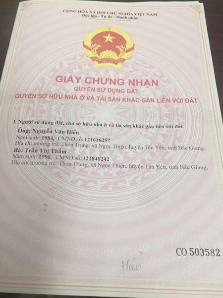 Bán Nhà Tứ Hiệp Thanh Trì Hà Nội  Dt33mx4 giá 1.6X tỷ