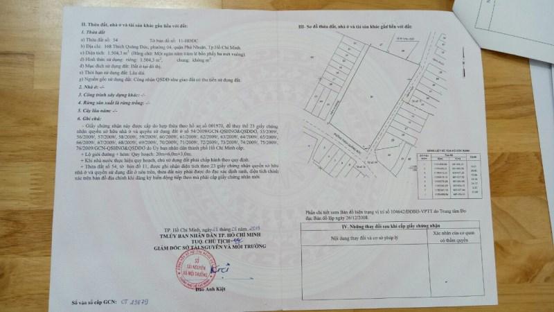 Chính chủ cần tiền bán gấp căn nhà đường hồng bàng đường lò gốm quận 6. Diện tích: 3x4.