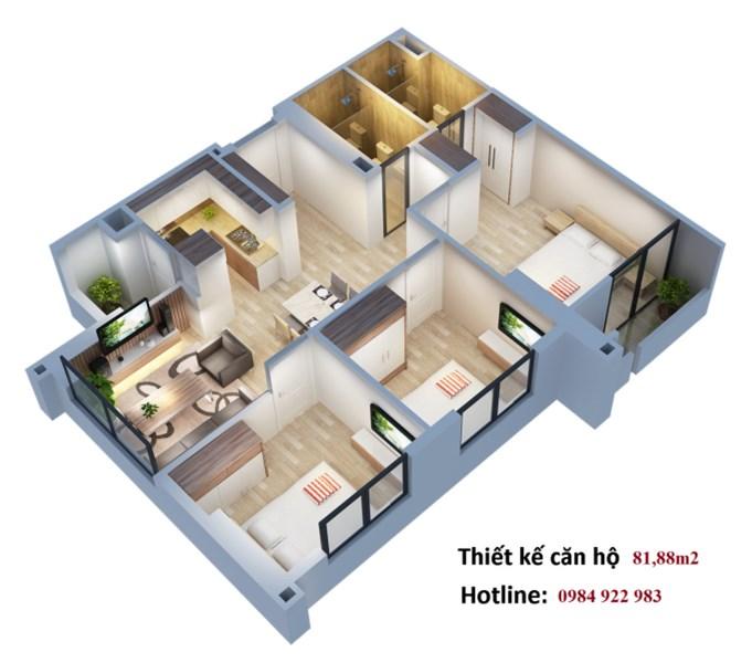 Căn góc 3PN giá chủ đầu tư, view đẹp-tòa trung tâm. LH: 0984.922.983