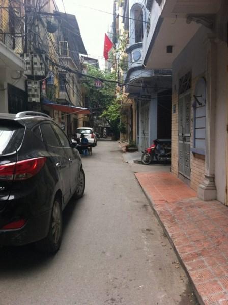 Bán nhà riêng phân lô ô tô đỗ cửa Khu Hoàng Văn 40m2x5T, MT 4,5 m.