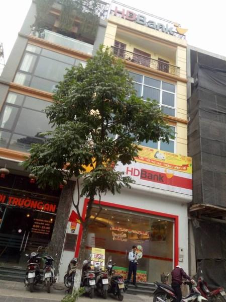 Cho thuê nhà 5 tầng mặt phố Trần Quý Kiên, Cầu Giấy. DT: 45m, MT: 4.2m. LH: 0972760089.