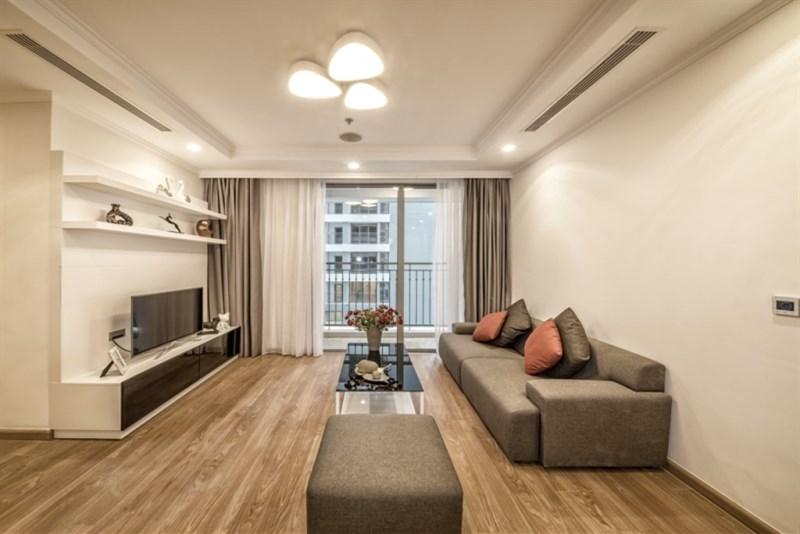 Gia đinh cần bán căn 2PN cửa Tây rẻ nhất thị trường 74 - m2, tòa T05, TimesCity, giá 2.5 tỷ bao phí