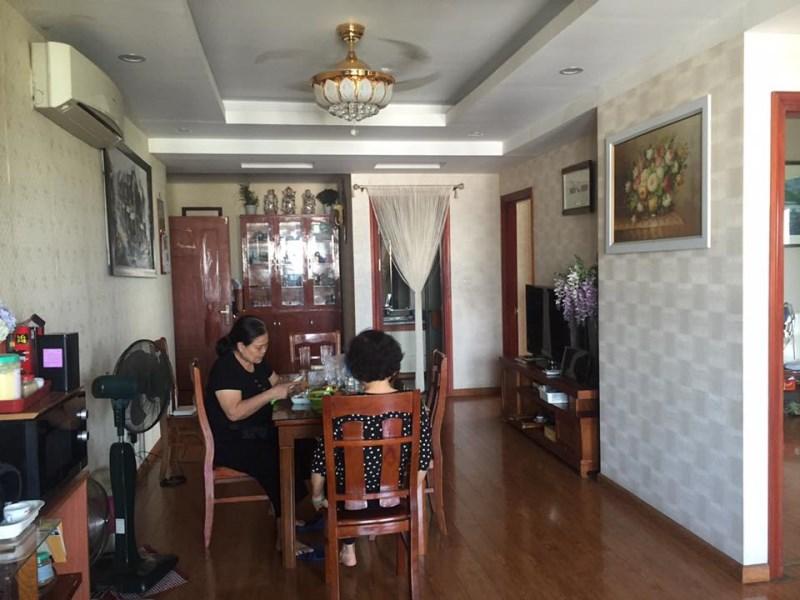 Cần cho thuê căn hộ chung cư tại Green House, Việt Hưng, 102m2, 3PN, 2WC, giá: 8.5tr/ tháng.