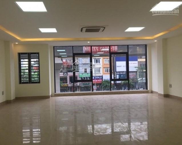 Cho thuê nhà mặt phố Trương Công Giai, DT 55m2, 5 tầng, MT 4m.