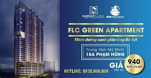 Bán căn hộ chung cư FLC Green Home 18 Phạm Hùng, suất ngoại giao-(60m2 -1,4 tỷ)
