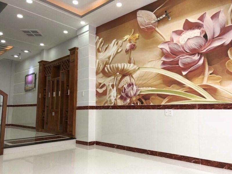 Bán nhà mới đường Quang Trung, Gò Vấp, Hẻm ô tô, Sổ đẹp, 4-5 phòng ngủ, Giá chỉ 5.56 tỷ.