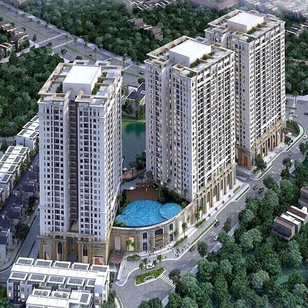 Căn hộ giá rẻ chỉ 1,2 tỷ/căn tại Hateco Xuân Phương, full đồ, sổ đỏ chính chủ