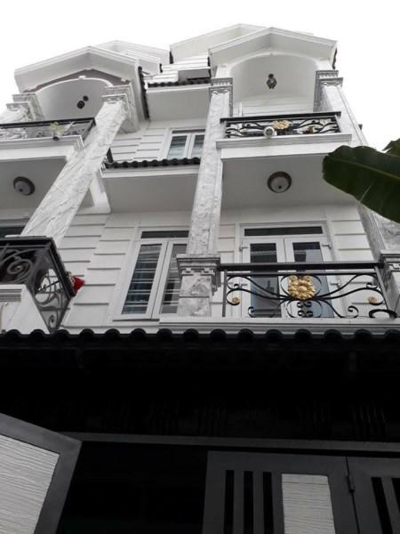 Bán nhà mới Phan Đăng Lưu, Phú Nhuận, Hẻm ô tô, 3 lầu, Giá chỉ 8.5 tỷ.