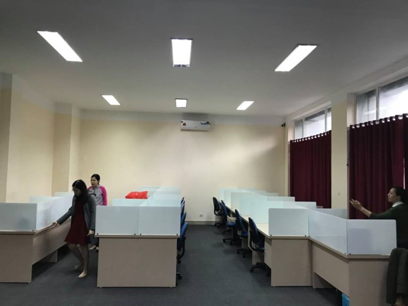 Cho thuê văn phòng giá 1,5tr/ tháng tại Thanh Xuân, Đống Đa, Hoàn Kiếm, Ba Đình, Hà Nội.