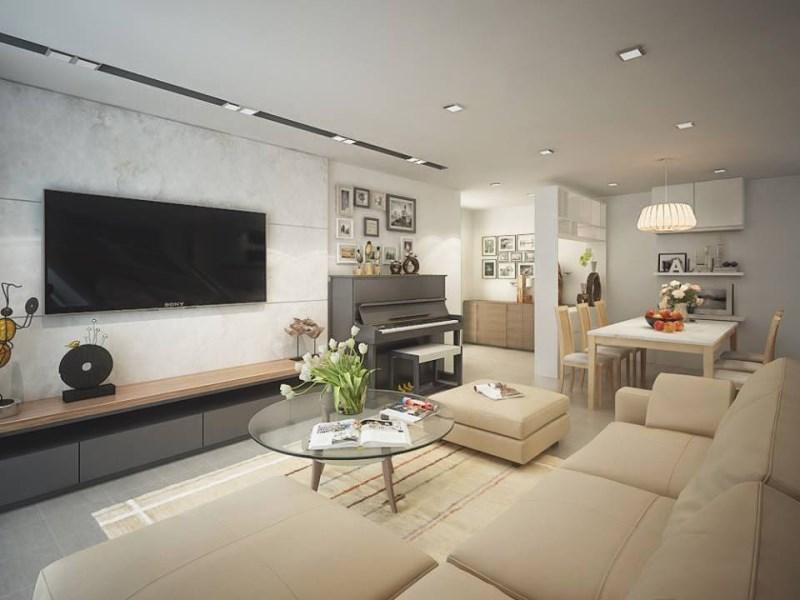 Cho thuê căn hộ chung cư 75 Tam trinh có đồ, giá 8 triệu LH 0913365083