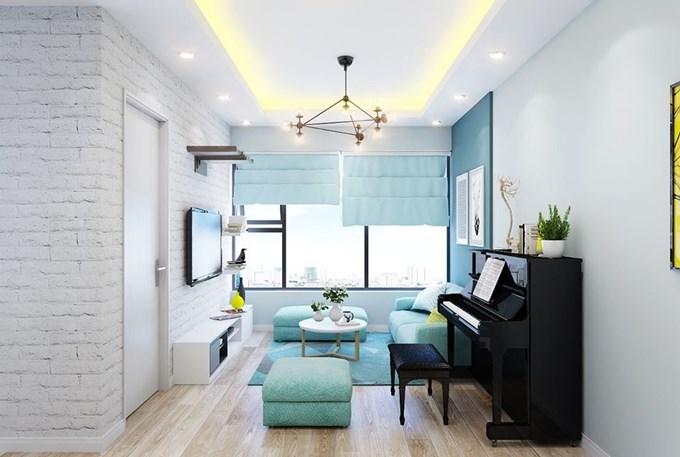 Cần Cho thuê căn hộ chung cư GeLexia 885 Tam Trinh Hoàng Mai HN giá 5tr/th LH 0913365083