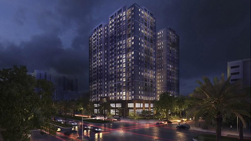 Gấp gấp cho thuê căn góc  để làm văn phòng chung cư  đồng phát vĩnh hoàng LH 0913365083