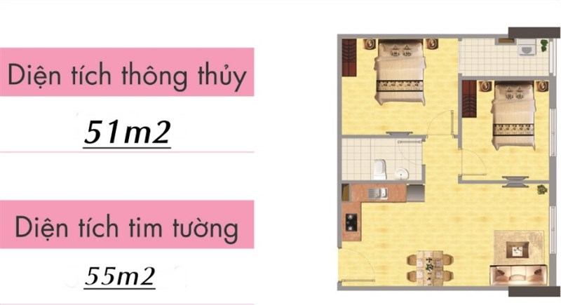 Bán chung cư ngõ 106 Hoàng Quốc Việt, DT 55m2, tầng 9, cửa Tây, bán giá gốc CĐT.