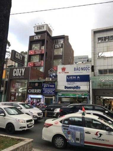 Bán nhà 147 Nguyễn Thị Minh Khai, Phạm Ngũ Lão, Quận 1. 58 tỷ, 566,5m2, 5 tầng 1 lửng 01669056662