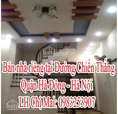 Bán nhà riêng tại Đường Chiến Thắng - Quận Hà Đông - Hà Nội