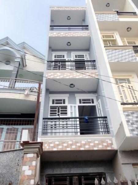 Bán nhà mặt tiền đường Cống Lở, P.15, Q.Tân Bình.DT: 5.5mx26m