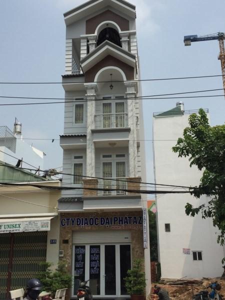 Bán nhà  mặt tiền đường Nguyễn Phúc Chu, phường 15, Quận Tân Bình. DT: 4m x 21m