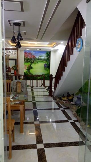 Nhà mới Nguyễn Chí Thanh, ngõ ô tô, đẹp và hiện đại, giá 4,7tỷ.