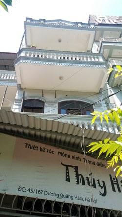 Cho thuê nhà riêng số 45A, Ngõ 167 Dương Quảng Hàm, Quận Cầu giấy, Hà Nội