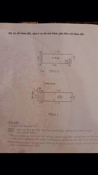 Bán nhà hẻm XH đường Cống Lở, P.15, Q.Tân Bình. DT: 3.9mx14m.