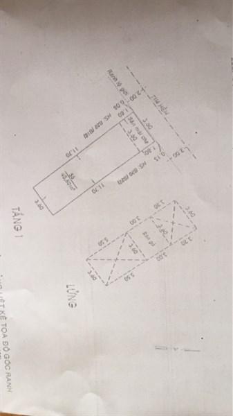 QA210 Bán nhà hẻm đường Phan Huy Ích, P.15, Q.Tân Bình.DT: 3.6mx14m