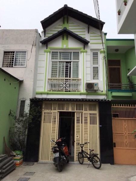 Bán Nhà 2 mặt hẻm Xe hơi đường Trần Thái Tông, P.15, Q.Tân Bình. DT: 4mx11m.