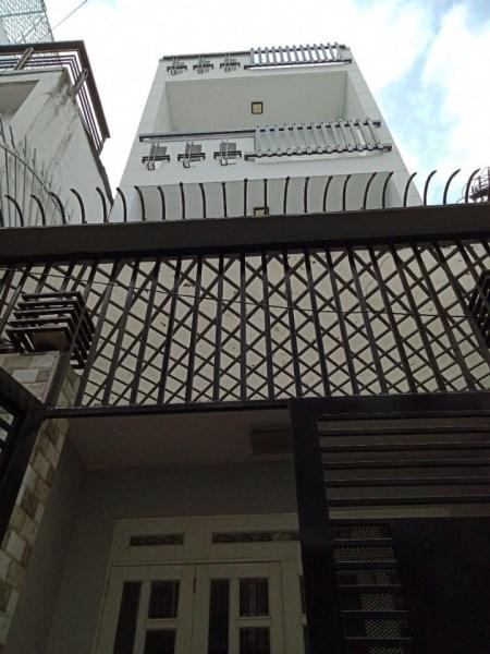 Bán nhà hẻm xe hơi đường Tân trụ , P.15, Q.Tân Bình. DT: 4mx12m.