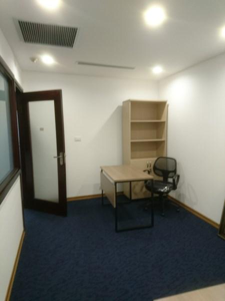 Cho thuê văn phòng đẹp phố Khương Trung 25-170m2.LH  0934190889