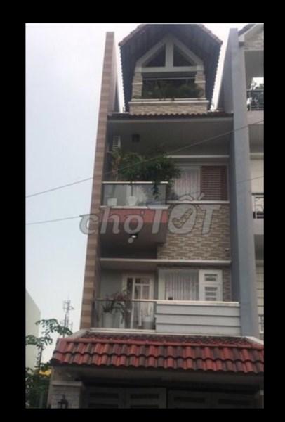 Bán nhà 4 tầng Mặt tiền đường Đình Tân Khai, P.Bình Trị Đông, Q.Bình Tân, TPHCM