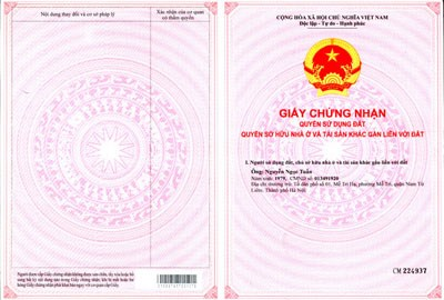 Bán đất thổ cư tại xã Song Phương, Hoài Đức, Hà Nội