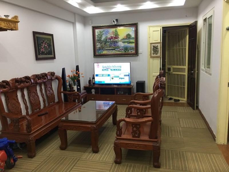 Bán CH tòa CT9 tầng 5 CA Thanh Trì, 66 Kim Giang, 80m2, 2PN, nội thất đẹp, 1.85 tỷ. LH 0972015918