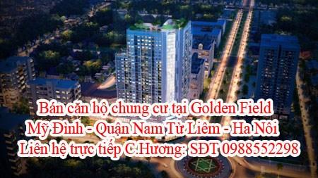 Bán căn hộ chung cư tại Golden Field Mỹ Đình - Quận Nam Từ Liêm - Hà Nội