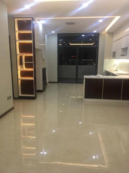 Bán căn góc Tràng An complex, 87.5m2, 03 ngủ, tầng 15, nội thất đầy đủ, giá rẻ