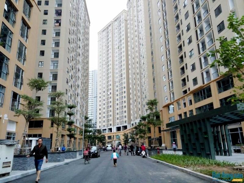 87 lĩnh nam New horizon có căn hộ chung cư cần cho thuê giá 8tr/th đầy đủ đồ LH 0912606172
