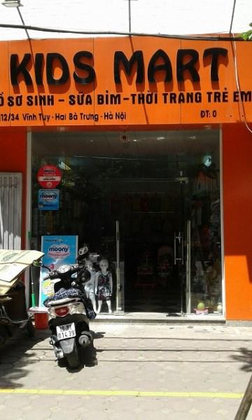 Nhượng shop Kid Mart tại 112/34 Vĩnh Tuy (phố Dương Văn Bé), 01687234788