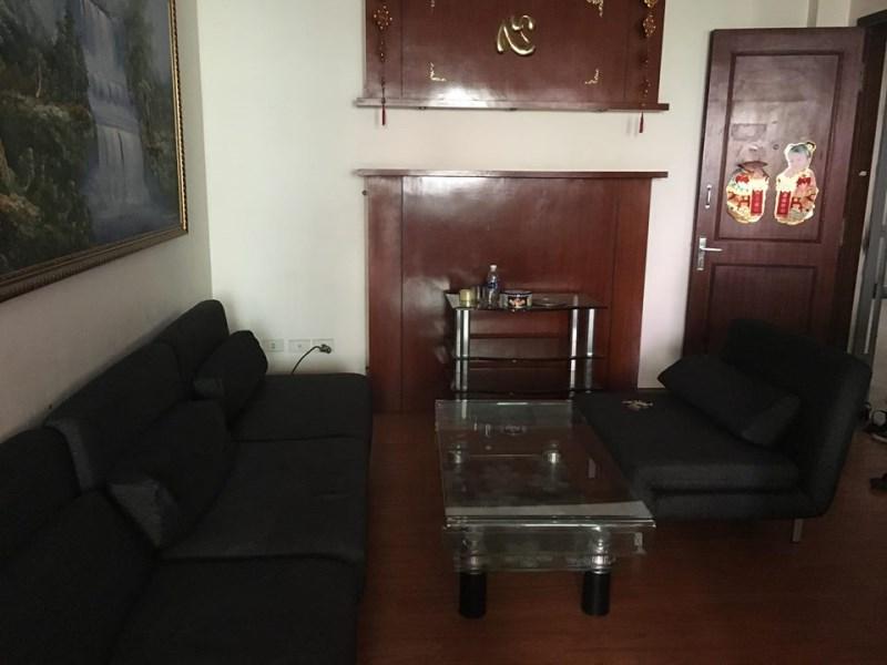 Cho thuê chung cư khu đô thị Việt Hưng, 100m2,nhiều đồ giá 6tr/th. LH : 0966155870