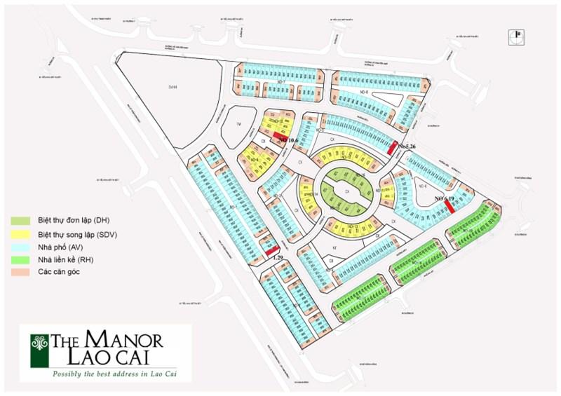 Bán Shophouse The Manor Lào Cai, chiết khấu lên đến 15%. LH 0973446300