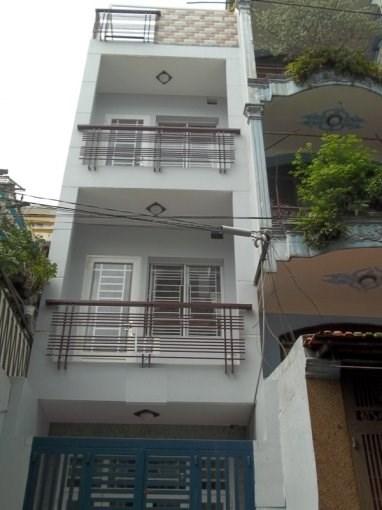 Bán Nhà hẻm đường Tân Trụ , P.15, Q.Tân Bình. DT: 4m x14m (nở hậu 4.5m).