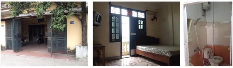 Cho thuê nhà tầng tại 343 Nguyễn Khoái, HBT, 01295117696