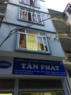Cho thuê nhà riêng số 46, Ngõ 14 Vũ Hữu, Thanh Xuân, Hà Nội