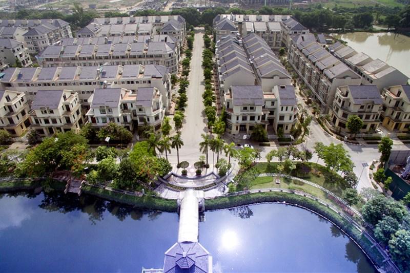 Bán biệt thự mặt hồ Xuân Phương Viglacera. Diện tích 187 m2 LH 0976136972